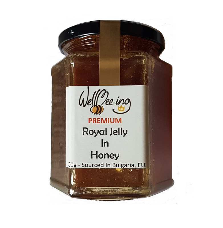 Delicious Honey in Fresh Royal Jelly